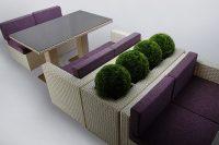 Мебель из ротанга серия Мартин