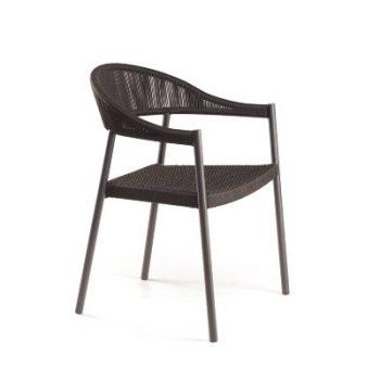 Плетенный стул Клевер